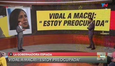 Vidal preocupada porque la espían desde la AFI | YA SOMOS GRANDES