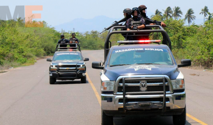 8 thousand policemen will patrol in Michoacan during Holy Week