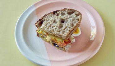 Already do this Eggplant and hummus sandwich