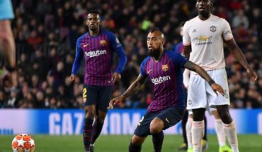 Arturo Vidal had a praised performance in the Barcelona victory before the Royal Society