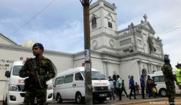 At least 207 deaths in a series of attacks in Sri Lanka