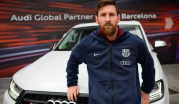 Audi delivered cars to the Barcelona players: did choose Messi?