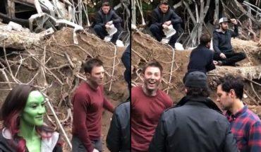 """Avengers: Endgame"": Chris Pratt and a ""illegal"" video of the behind scene"