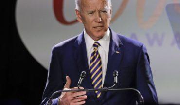 Biden denies misconduct toward any woman