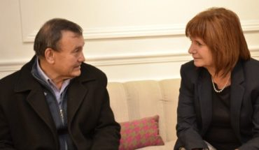 """Bullrich received Cataldo: """"Was your life or that of the offender"""""""