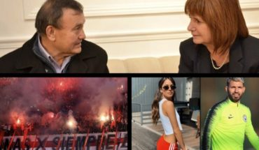 Bullrich was the doctor that killed the thief, Tini and Kun, controversy over Michael Jackson in a school and more...