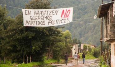 Canceled budget to Nahuatzen by irruption in IEM