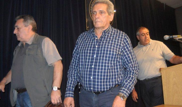 """Carlos Acuña advirtió que la CGT """"está trabajando para un paro general"""""""
