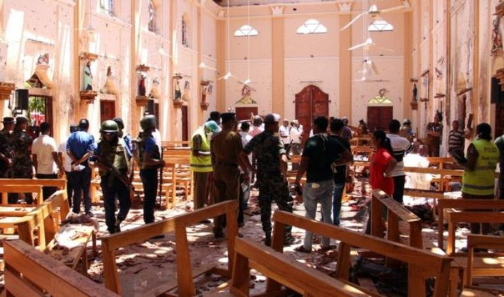 Chaos and horror after the killing of the Domingo of Resurrección in Sri Lanka