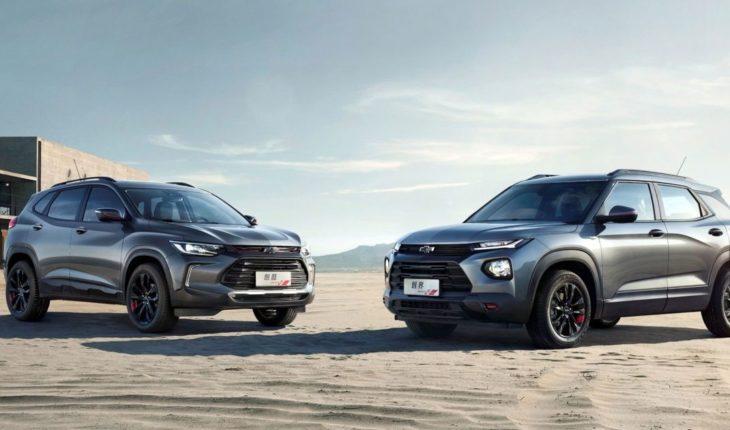 Chevrolet presentó en Shanghái los nuevos Tracker y Trailblazer
