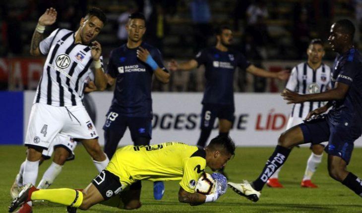 Copa Sudamericana: Colo Colo goes by the classification before the U. Católica de Quito