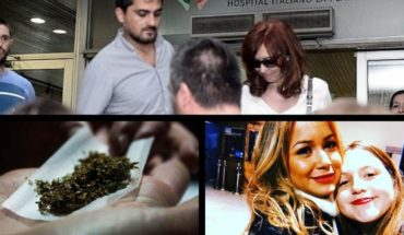 Cristina said goodbye to his mother and traveled to Cuba, international day of marijuana, the disclaimer of the daughter of Karina and more...