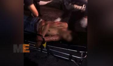 "Death of the young man injured in a street fight during celebration of ""toritos de petate"", in the colonia Eduardo Ruiz de Morelia"