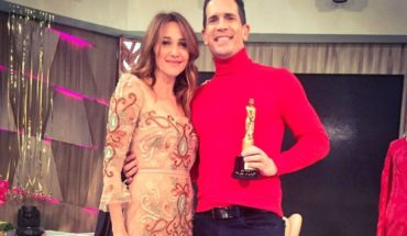 Diego Ramos and Vero Lozano: laughs for his performance of small