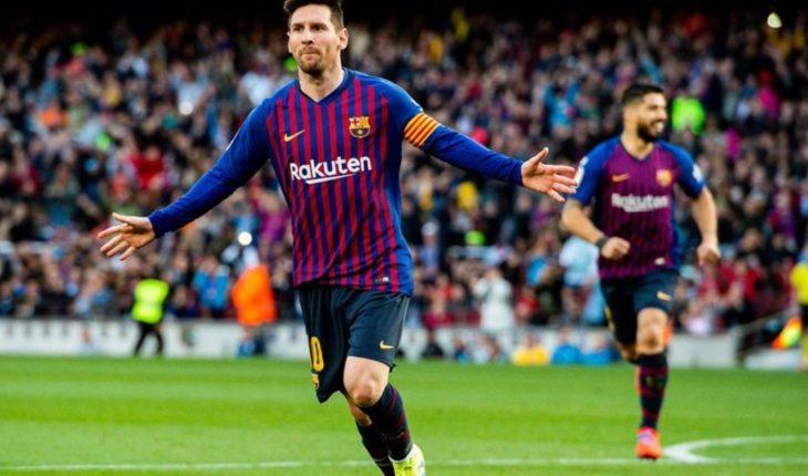 """Diego Simeone bancó Lionel Messi: """"La crítica contra él no es justa"""""""