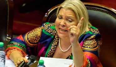 """Elisa Carrió: """"in October we will be better but not quite right"""""""
