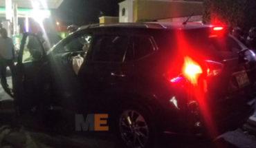 Employee of bar in Morelia, driving stolen truck