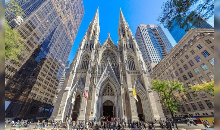 En Nueva York, un hombre que llevaba gasolina y encendedores, es detenido cuando intentaba entrar a la Catedral de San Patricio