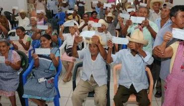 En Tarímbaro, por cuestión de seguridad, se suspenden los pagos de la Pensión para Adultos Mayores