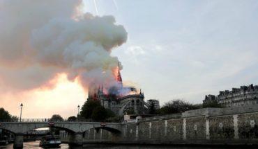 Evacúan casas cercanas a la catedral de Notre Dame por posible colapso