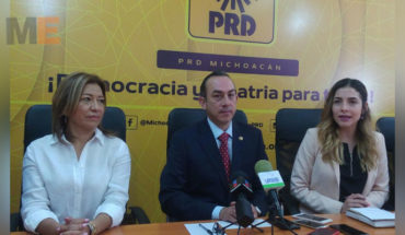 Even without defining the transition of the diligence of the PRD Michoacán Michoacán