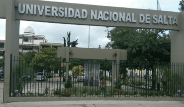 Fake attack at the National University of Salta on the election day
