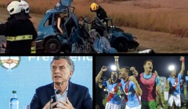 Fatal clash in Cordoba, Macri receives entrepreneurs, Sarmiento and Arsenal defined the rise and much more...