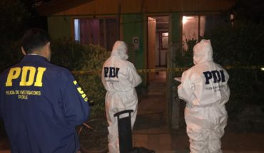 Femicide in Ñuble: woman was killed shot in front of two of his children