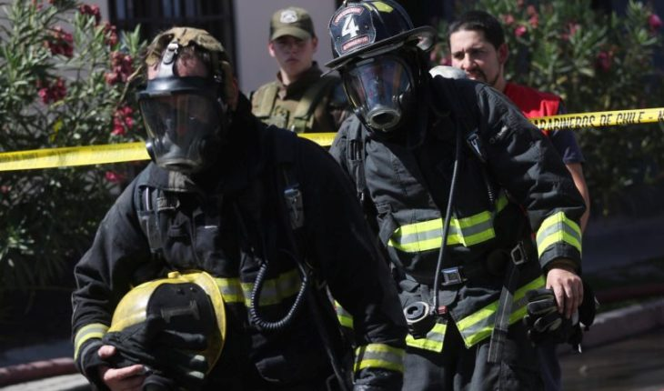 Firefighters confirmed food poisoning more than 40 volunteers on course