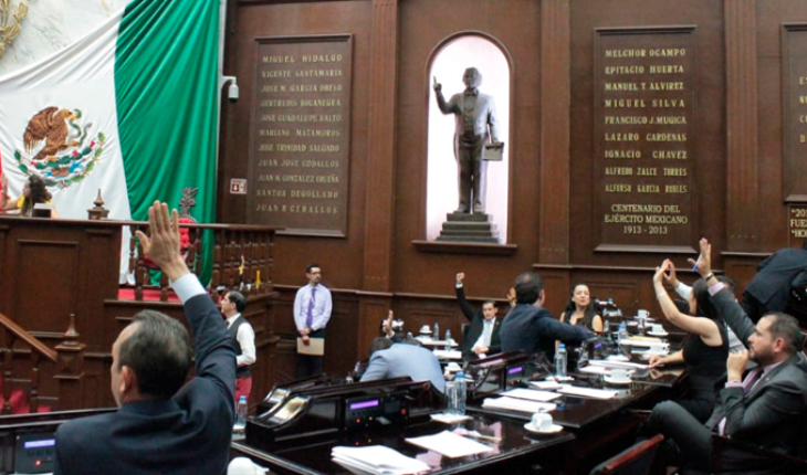 Five months of their adoption, Michoacán Congress repeals eco-taxes