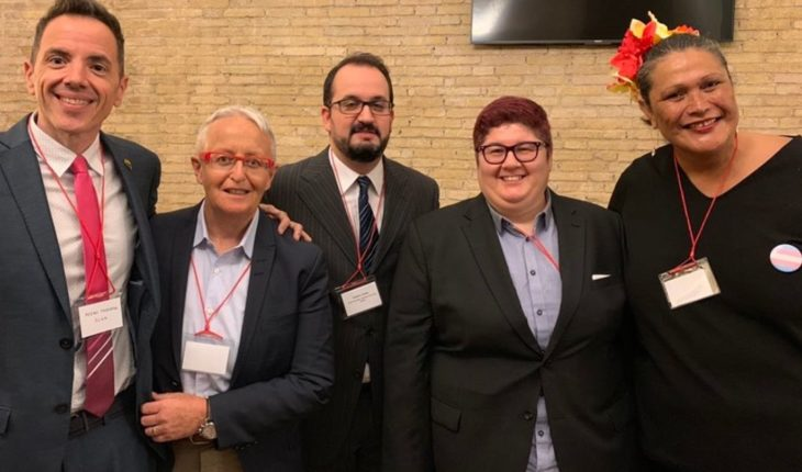 For the first time, the Vatican received representatives of the LGBT community