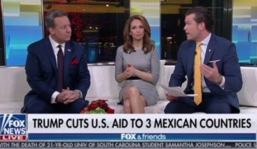 "Fox News: the apology from the program Fox & Friends for calling ""3 countries Mexican"" El Salvador, Guatemala and Honduras"