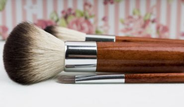 Free beauty products for testing animal gather at festival