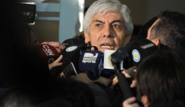 """Hours of the strike on Tuesday, Moyano said that the Government """"failed everything"""""""