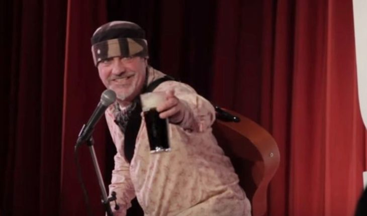 Ian Cognito, the comedian who died of a heart attack on stage