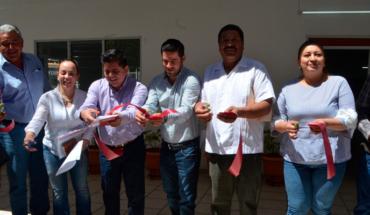 Inaugurated Secretary of welfare CADER in Álvaro Obregón