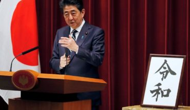 Japan Announces succession in the monarchy, starts the era Reiwa
