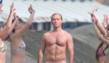"Jude Law will be a Holy Father naked in the series ""The New Pope"""
