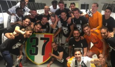 Juventus managed its eighth consecutive title in Italy and scored a record
