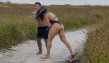 Luchadora de MMA golpeó a un hombre que se desubicó en una sesión de fotos
