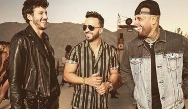 """Luis Fonsi, Sebastián Yatra and Nicky Jam present """"Give it back"""""""