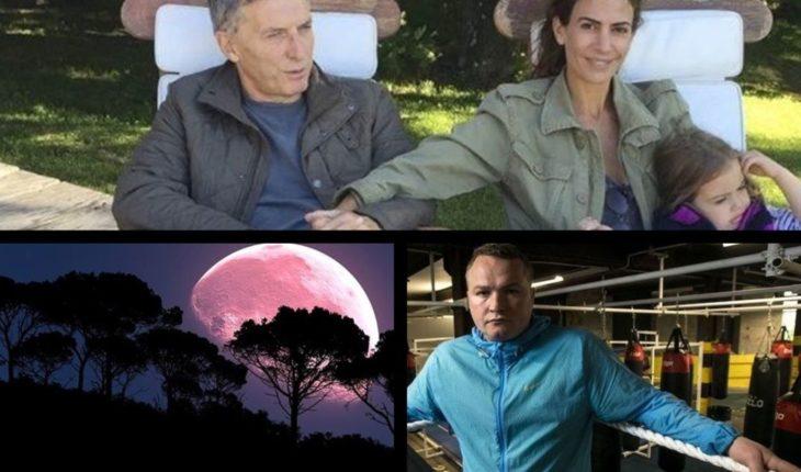 """Macri en Córdoba, sube Riesgo País, qué es la Luna Rosa, actor de """"Trainspotting 2"""" asesinado y mucho más..."""