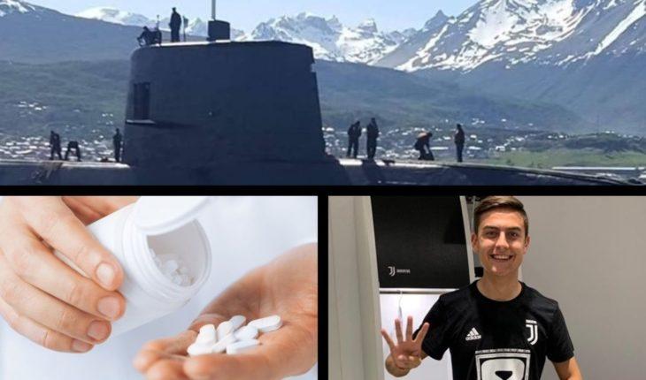 Macri to justice by ARA San Juan, Francia warns of ibuprofen, Juventus makes history and more...