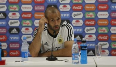 """Mascherano, on Russia 2018: """"Sampaoli never ceased to be the coach"""""""