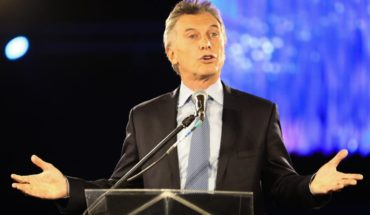 """Mauricio Macri: """"this is a time of great political uncertainty"""""""