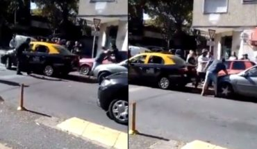 Met the sanction to the taxi driver who fought with a motorist in Villa Urquiza