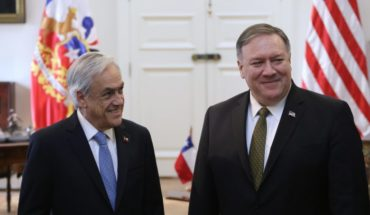"""Mike Pompeo thanked Pinera """"being a leader for the Venezuelan people"""""""