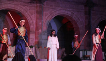 """Morelianos y turistas recuerdan """"La última cena"""" de Jesús"""