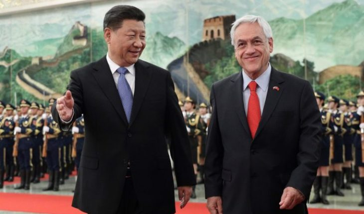 Pinera begins his visit to China with the firm's plan to boost relations