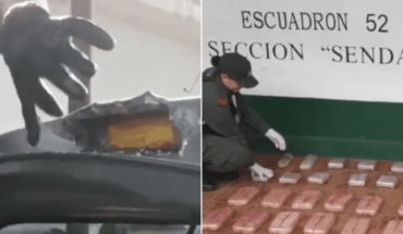 Police found 38 kilos of cocaine on roof of truck